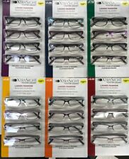 Foster Grant XtraSight 4 Pack Larry Reading Glasses High-Quality Durable Frames