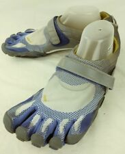 Vibram Mens Shoes Five Fingers EU 43 Blue Gray Hook/Loop Athletic Water 5639
