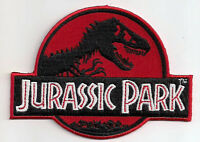 Jurassic Park Film Logo - Uniform Patch Kostüm Aufnäher - neu