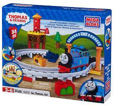 MEGA Bloks 10570-Thomas & Friends Go Go Thomas ** GRANDE REGALO **