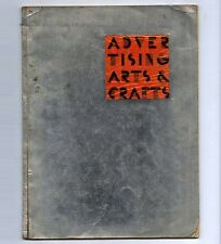 1931 American Moderne ADVERTISING ARTS AND CRAFTS Commercial Art Deco Sample Bk