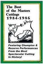 The Best of The Masters Cutting Horses 1984-1986 -- DVD