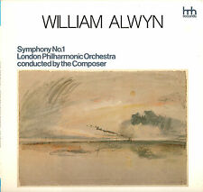 CLASSICAL LP WILLIAM ALWYN SYMPHONY NO. 1 LONDON PHILHARMONIC ORCHESTRA