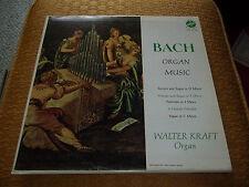 Bach Organ Music Walter Kraft, The Silbermann Organ Vox Stereo LP Fast Shipping!