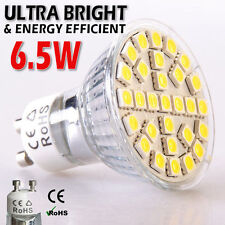 12x GU10 bombillas LED blanco día 6.5 W SMD5050 ultra brillante luz del punto lámparas Cool UK