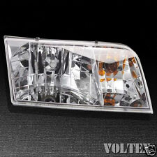 2004-2011 Ford Crown Victoria Headlight Lamp Clear lens Halogen Passenger Right