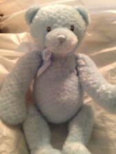 "Baby Gund Bear 15"" My First Teddy 5835 Blue Clean No odors looks unused"