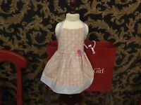 AMERICAN GIRL Doll Chrissa's Retired polka dot halter dress Only