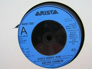 ARETHA FRANKLIN....WHO'S ZOOMING WHO..1985......VG+ CON
