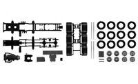 #084345 - Herpa Fahrgestell MB Actros SLT 4-achs Schwerlastzugmaschine  - 1:87