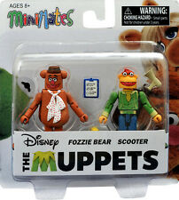 The Muppets Minimates S1 Fozzie Bear & Scooter Figures Diamond 19488