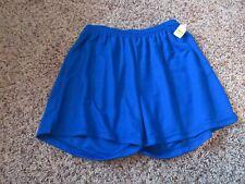 New Vintage 80s Score Adult Medium M American Soccer Shorts Polyester Usa Blue