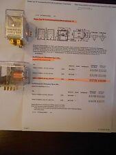 Siemens Schaltrelais 15  V23009-A0007-A052 24V unbenutzt = Axicom 4-1393800-6