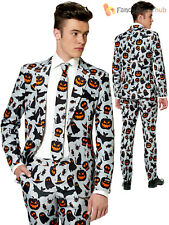 Adult Mens Suitmeister Grey Halloween Icons Suit Fancy Dress Party Costume UK Size 40