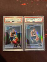 2018-19 Donruss Optic Holo Michael Porter Jr Silver Prizm Rookie RC PSA 8 X2