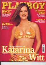 KATARINA WITT-ALTER PLAYBOY DEZEMBER 2001-SEHR EROTISCHE FOTOS-AUS 12/2001-TOP