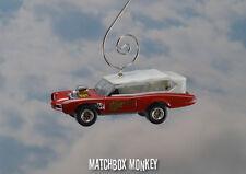 The Monkees 1966 Pontiac GTO Wagon Monkee Mobile Christmas Ornament Monkeemobile