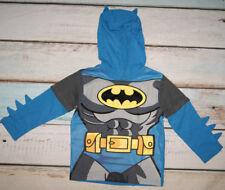 George Boys Batman Pattern Long Sleeved Hooded Top Age 2-3 Years