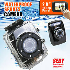 Waterproof Digital Camera Sports Action Video HD Underwater Protective Housing