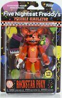Rockstar Foxy Figure Five Nights At Freddys FNAF Funko Pizzeria Simulator NEW UK