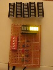 5pcs LED bargraph module, 10bar, yellow for graphic Equalizer display