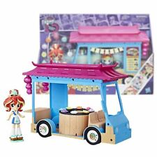New My Little Pony Sunset Shimmer Rollin' Sushi Truck Playset & Figure Official
