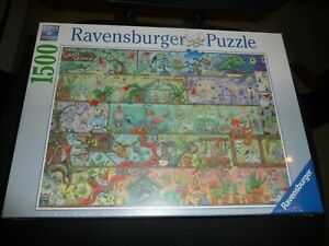 Ravensburger 16712 Gnome Grown 1500 Piece Jigsaw  Puzzle New Sealed  2021