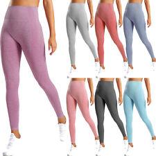 Seamless Yoga Pants Womens High Waist Gym Sportswear Running Fitness Leggings