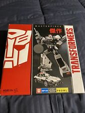 2013 Transformers Masterpiece  PROWL MP-04 Autobot Toys R Us TRU exclusive