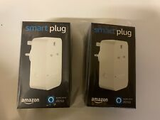 2X -Amazon Smart Plug UK - works with Alexa. Brand UK model - New and Sealed Box