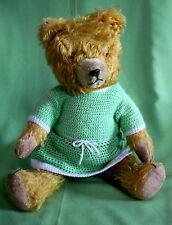 Original gefertigte Markenlose antike Stofftiere & Teddybären