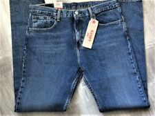 Levi's Men's NWT 512 0152 34x34 Dark Blue ~ Slim Taper Fit Stretch Jeans