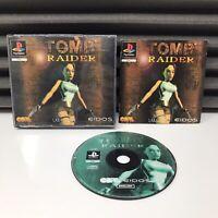 Tomb Raider Big Box PS1   Complete   VGC - PAL   PlayStation 1