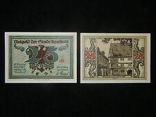 Notgeld der Stadt Arnstadt 25 Pfennig von A. Paul Weber (meine Pos-Nr. 25-2-1)