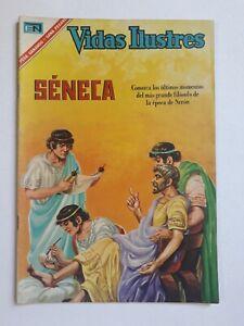 SENECA - VIDAS ILUSTRES #155 - ORIGINAL COMIC IN SPANISH - MEXICO - NOVARO