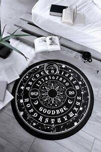 Killstar Mystic Rug NEW Floor Mat Round Rug Goth Dark Home Moon Ouija Witch Sun