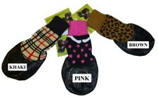 HDP Waterproof rubberized Dog SOCKS boots Set of 4