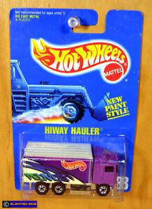 Hot Wheels Hiway Hauler [Purple/Blackwalls] - New/Sealed/XHTF Vintage [E-808]