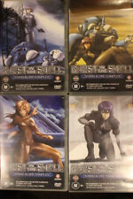 GHOST IN THE SHELL STAND ALONE COMPLEX RARE DVD VOLUMES ONE TWO THREE FOUR ANIME