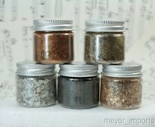 . Five Jar Set - Metallic Mica - 311-4343 - Imported Mica Flakes