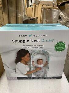 Baby Delight Snuggle Nest Dream Portable Infant Sleeper