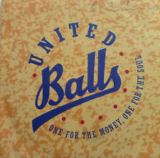 "7"" NDW RARE GERMAN SKA ! UNITED BALLS One For The Möney"