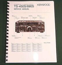 Kenwood TS-450S Service Manual - Premium Card Stock Covers & 28 LB Paper!