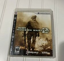 Call Of Duty Modern Warfare 2 - COD MW2 - PS3 2009 - Complete - Disc & Case