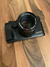 Contax G2 Black with 90mm f2.8 lens
