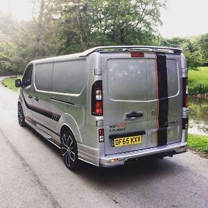 Traffic Vivaro Van Body Kit 14 - 19 Rear Spoiler Plastic Sport Spoiler