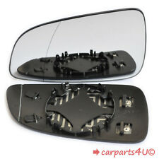 Left Passenger Side Heated Wing Mirror Glass for VAUXHALL ASTRA H mk5 2004-2008