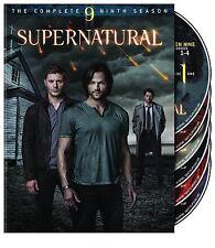 Supernatural ~ The 9th Complete Ninth Season 9 Nine ~ BRAND NEW 6-DISC DVD SET