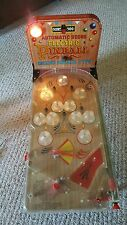 Vintage MarxToys 1960's Electric Deluxe Arcade Type Pinball Machine with 5 balls