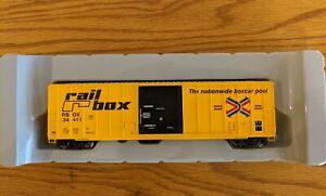 Athearn 50' FMC Boxcar - Railbox  - Rare! NIB